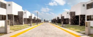 casas en una zona segura en Villa Nicolás Romero, México