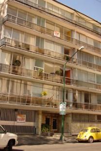 amplio y soleado apartamento amueblado en Benito Juarez, Distrito Federal