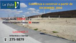 Lotes Residenciales Desde $3980 en San Luis Potosi, San Luis Potosi