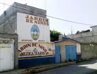 Escuela sobre avenida del mazo cerca del municipio en Valle de Chalco Solidaridad, México