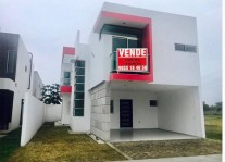 HERMOSA CASA NUEVA EN VENTA EN RESIDENCIAL ONIX en Centro, Tabasco