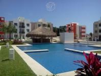 Departamento en Fracc Las flores en Playa del Carmen, Quintana Roo