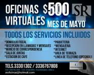 MAYO 50% OFICINAS VIRTUALES en Zapopan, Jalisco