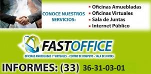 RENTA OFICINA VIRTUAL CON FAST OFFICE, TU MEJOR OPCION Â¡Â¡ en Zspopan, Jalisco