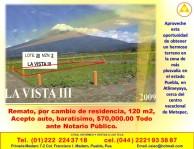 Remato, por cambio de residencia, 120 m2 en Puebla (Heroica Puebla), Puebla