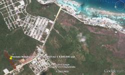 Precio rebajado!! terreno en Mahahual de 17,869 m2 en Othón P. Blanco, Quintana Roo