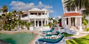 Preciosas Villas en Venta con Vista al Mar Akumal en Solidaridad, Quintana Roo