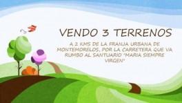3 LOTES CAMPESTRES EN MONTEMORELOS en Montemorelos, Nuevo León