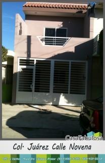 Casa para estrenar en la colonia Juárez en Mazatlán, Sinaloa