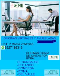 OFICINAS EJECUTIVAS ,ROMA Y CONDESA en Ciudad de México, Distrito Federal
