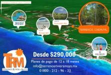 Terrenos En Riviera Maya a 2 km de playa en Tulum, Quintana Roo