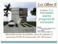 LOS OLIVOS II CASAS DE 3 RECAMARAS en Ciudad General Escobedo, Nuevo León
