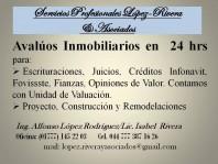 AVALUOS URGENTES en Cuernavaca, Morelos