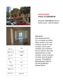 CASA EN VENTA en Ciudad de México, Distrito Federal