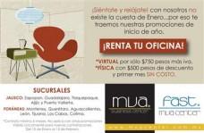Oficinas en renta. aprovecha nuestra promoción! en Guadalajara, Jalisco