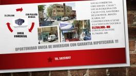 Local Comercial en San Pedro de los Pinos en Benito Juarez, Distrito Federal