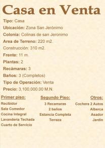 Casa con Alberca Casa Colinas de San Jeronimo en Monterrey, Nuevo Leon