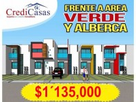 CASA FRENTE A AREA VERDE Y ALBERCA en Mazatlán, Sinaloa