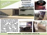 Casa en Fracc. Residencial suspiro juriquilla en Querétaro, Querétaro