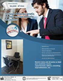Oficinas Físicas a a partir de $2500 en Hermosillo, Sonora