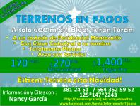 TERRENOS EN TIJUANA EN PAGOS, PLANOS Y SIN REQUISITOS en tijuana, Baja California
