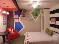 Divertida habitación completamente amueblada en Ciudad de México, Distrito Federal