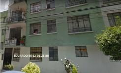 DEPARTAMENTO EN COLONIA DEL CARMEN, BENITO JUAREZ en Ciudad de México, Distrito Federal
