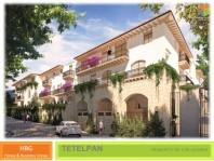 Conjunto de casas en Tetelpan estilo colonial en Alvaro Obregon, Distrito Federal