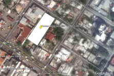 Terreno de 3500 m2 sobre avenida Juarez centro en Playa del Carmen, Quintana Roo