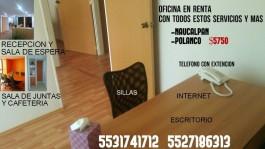 Oficina amueblada en Condesa,Naucalpan y azcapotza en Ciudad de México, Distrito Federal