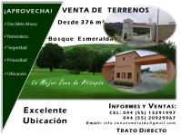 Venta de Terrenos Zona Esmeralda en Atizapan de Zaragoza, Mexico