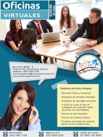 Oficinas virtuales en 500 mxn Mi Oficina Sonora en Hermosillo, Sonora