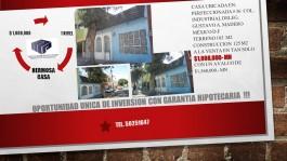 Casa en la colonia Industrial, Oportunidad Unica en Gustavo A. Madero, Distrito Federal