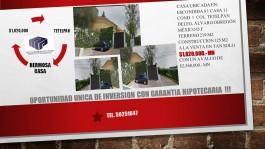 Casa en condominio en tetelpan de remate en Alvaro Obregon, Distrito Federal