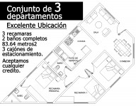 Departamento nuevo bien ubicado Acepto Creditos en Ciudad de México, Distrito Federal