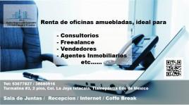 RENTA DE OFICINAS CON INTERNET EN LA OFICINA en Tlalnepantla de Baz, México