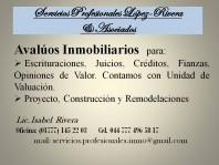 Avaluos Inmobiliarios en Cuernavaca, Morelos