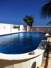 CASA JUNTO AL MAR Y ALBERCA EN PUERTO MORELOS en Cancún, Quintana Roo