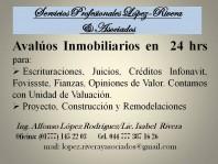 AVALUOS EN TODO MORELOS en Cuernavaca, Morelos