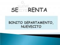 SE RENTA BONITO DEPARTAMENTO NUEVECITO, SUPER BIEN UBICADO en Iztacalco, Distrito Federal