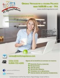 Oficinas Virtuales en Polanco en Ciudad de México, Distrito Federal