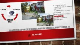 Casa en Cumbres del Valle, de Remate !! en Tlalnepantla de Baz, Mexico