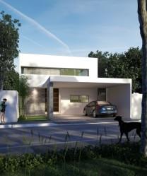 Estrene preciosa casa en Santa Rita Cholu en Merida, Yucatan