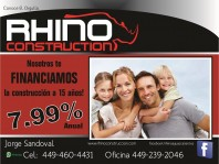 RHINO CONSTRUCTION en Aguascalientes, Aguascalientes