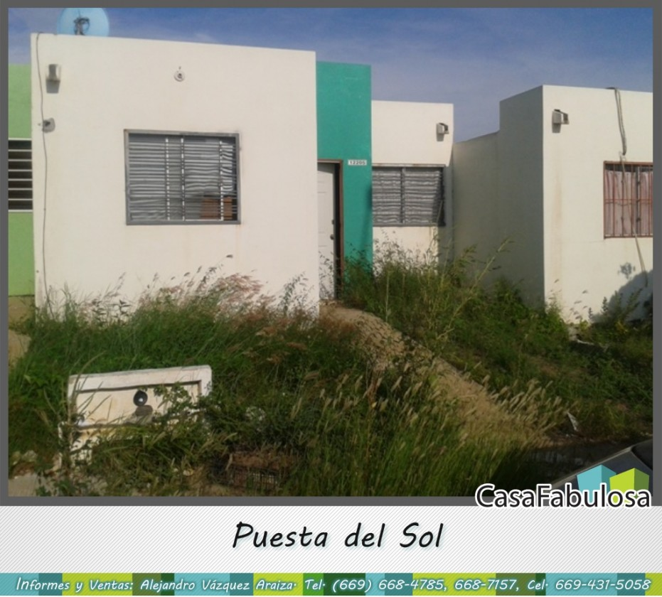 Casa en venta en puerta del sol mazatl n 16678 hab tala for Casas en renta puerta del sol