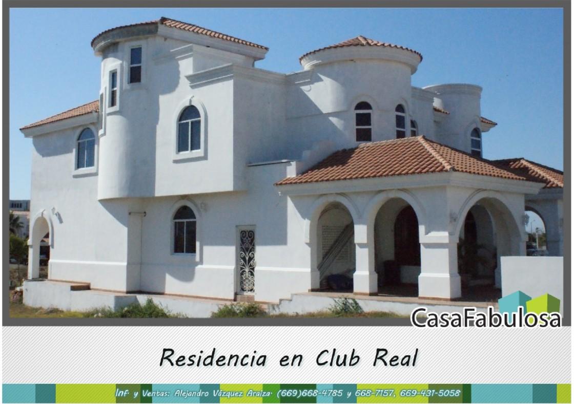 Casa En Venta En Club Real Mazatlan 4624 Hab Tala