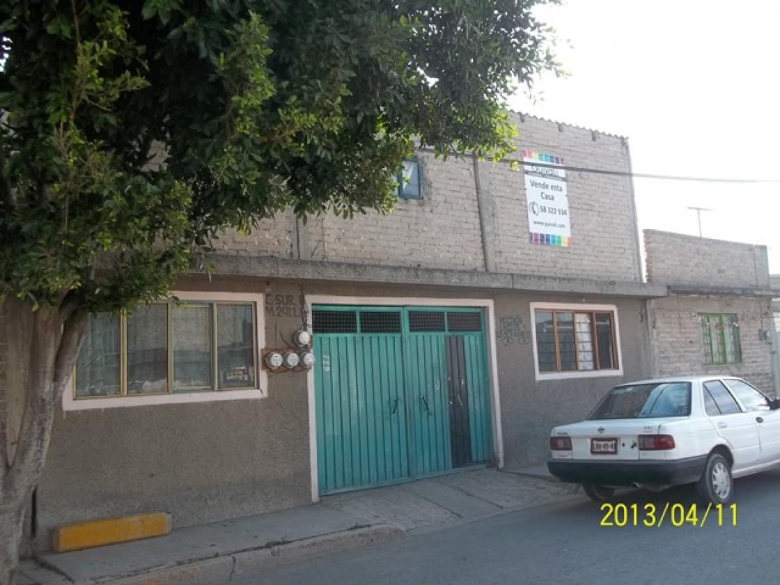 Casa En Venta En Valle De Chalco Solidaridad 4637 Habitala