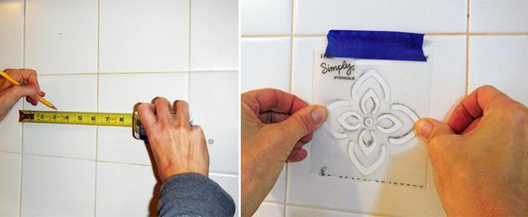 Pintar sobre azulejos free with pintar sobre azulejos - Como pintar azulejos ...