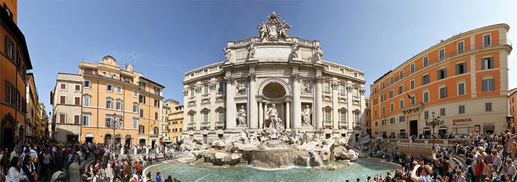 Restauración de la Fontana di Trevi